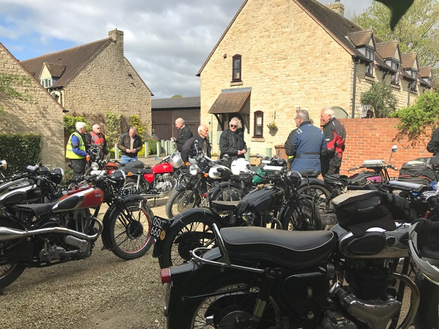 Gathered for our Wrinkly Run on the 26th of April 2018