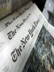 The bastion of liberal thought in the United States, the New York Times is a venerated institution. Editorials and the op-ed pieces are written by some of the most respected names in journalism and various other fields (Paul Krugman, 2008 Nobel Laureate for Economics, is a regular contributor). The nature of liberal news is that it depresses you, so rather than be overwhelmed by magnitude of suffering in the world, focus on the depth of experience and knowledge you gain by making this newspaper part of your daily reading ritual.