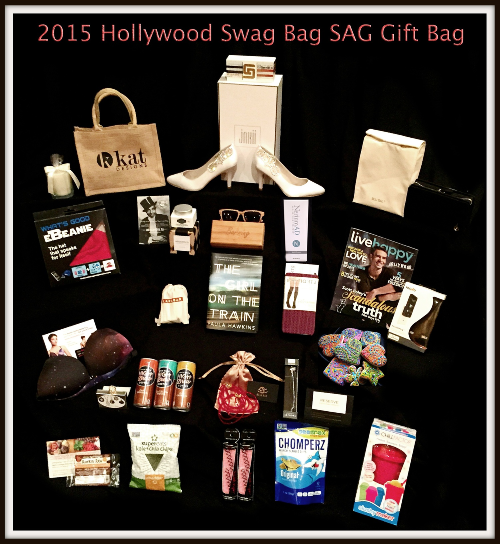 Blu Salt's Rama Wallet (pictured here top right) was chosen to be part of the Hollywood Swag Bag's gift bags to the 2015 SAG Nominees staying the Four Seasons Hotel in Beverly Hills.