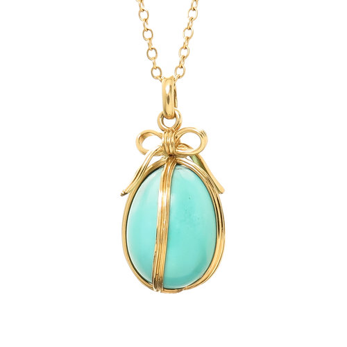 d3c8acc3f Jean Schlumberger for Tiffany & Co. Egg Pendant Necklace — N. GREEN ...