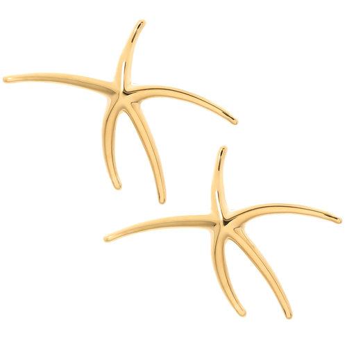 dd91097c9 Tiffany & Co. Elsa Peretti Yellow Gold Star Fish Earrings — N. GREEN ...