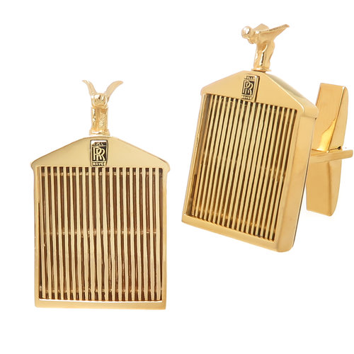 Rolls royce yellow gold cufflinks n green and sons rolls royce yellow gold cufflinks aloadofball Choice Image