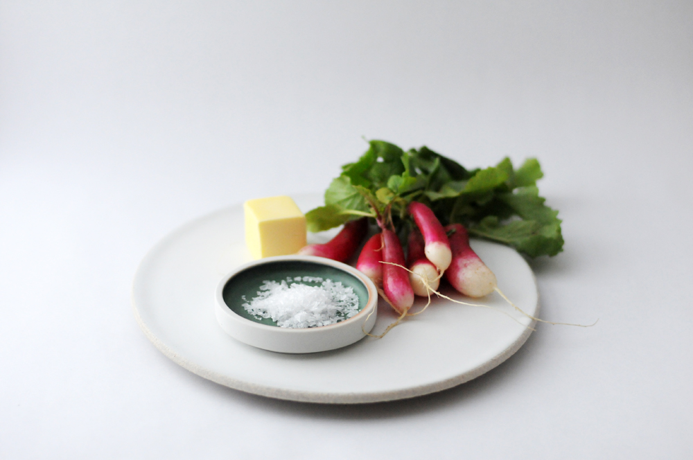 Salt Cellar and Plate