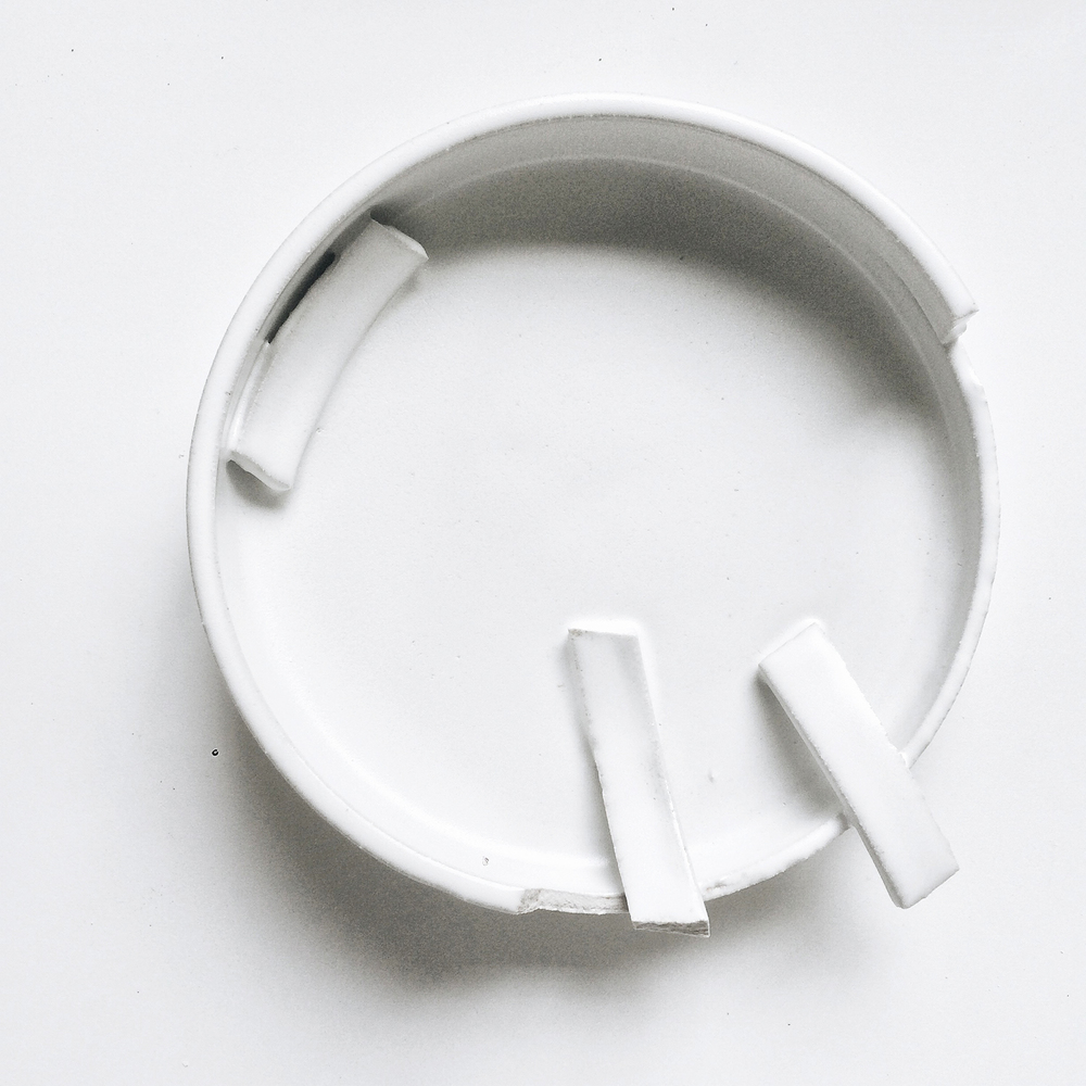 Imperfectly perfect white shallow bowl.jpg