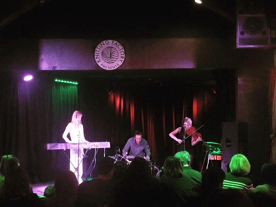 Performing at Gary Calamar's Mimosa Series at The Federal Bar in North Hollywood, CA