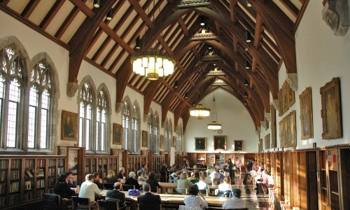 Duke Gothic Reading Room