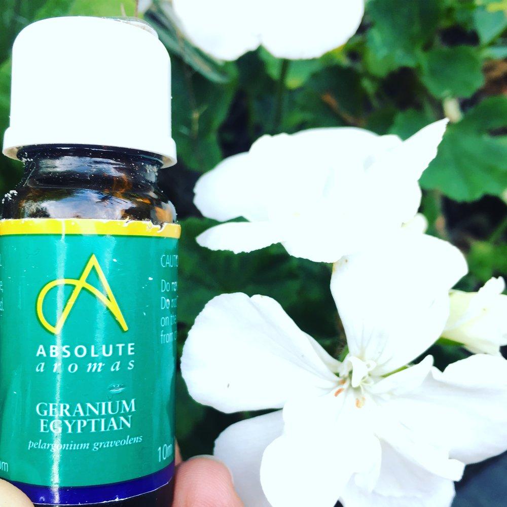Absolute Aromas, Geranium Essential Oil