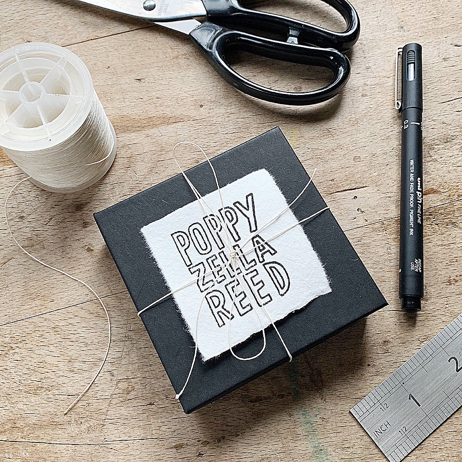 Poppy Zella Reed Recycled Plastic-free Packaging