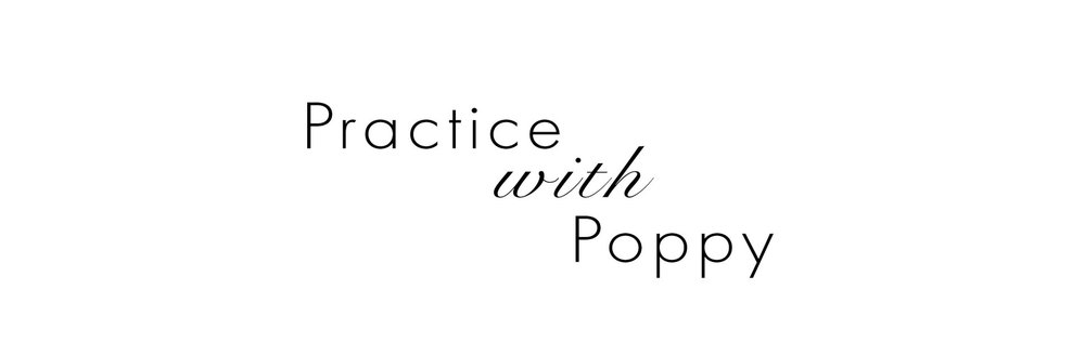 Practice with Poppy Banner