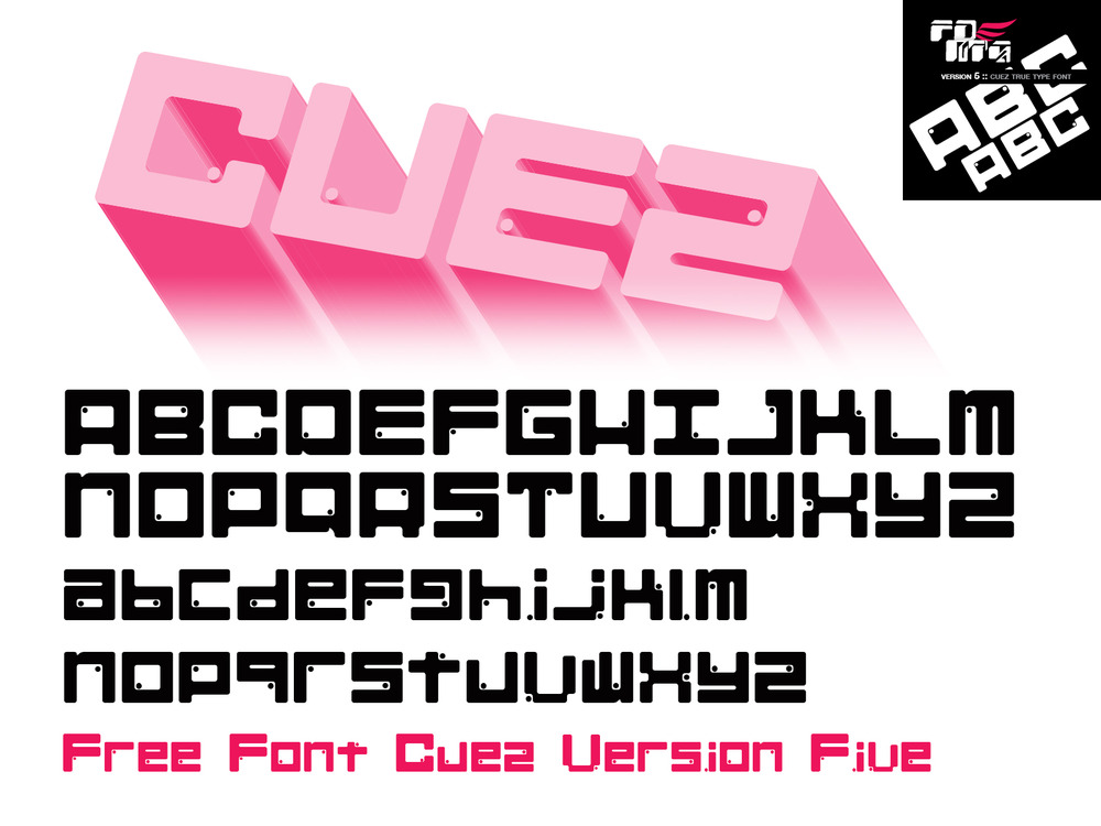 Cuez Ver6 Font Free Download
