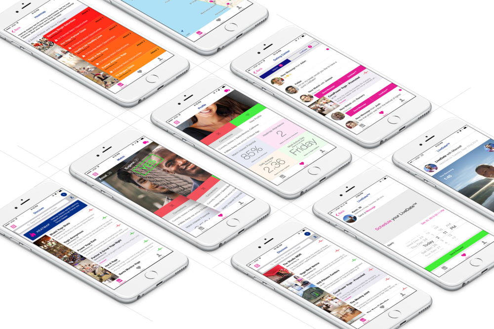 Mobile Dating Application - Partner and leader of the vision, design and execution.
