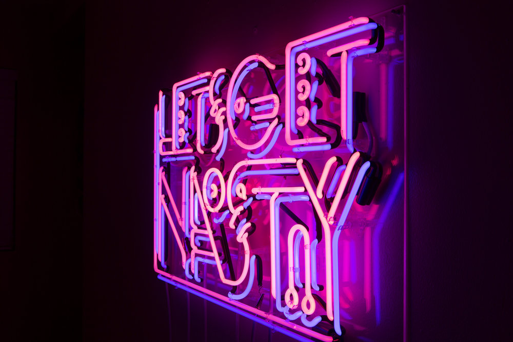Lets Get Nasty Artwork Neon