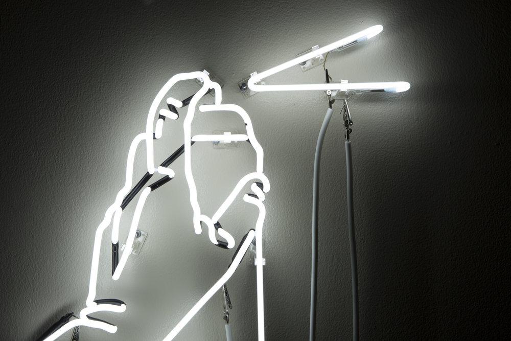 Spray Paint Neon Art