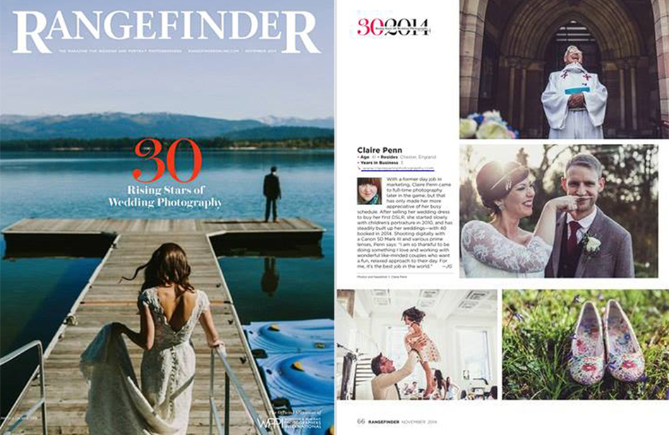 Rangefinder Magazine - November 2014 - 30 Rising Stars of Wedding Photography.jpg