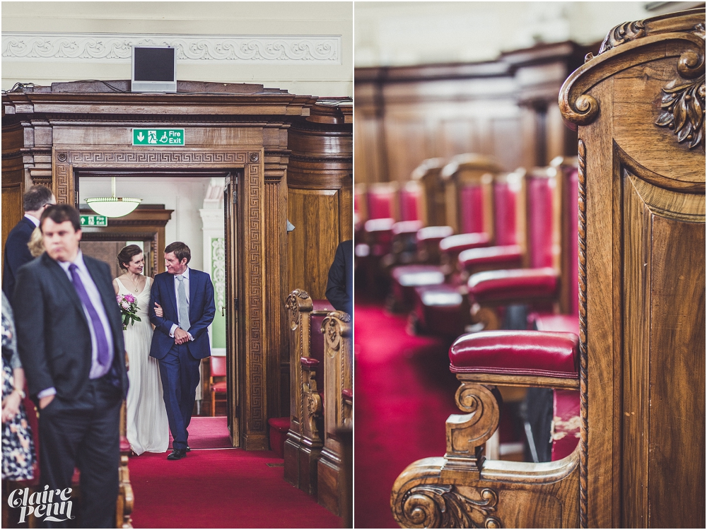Relaxed wedding on the Thames - Islington Town Hall and The Oyster Shed, London_0016.jpg
