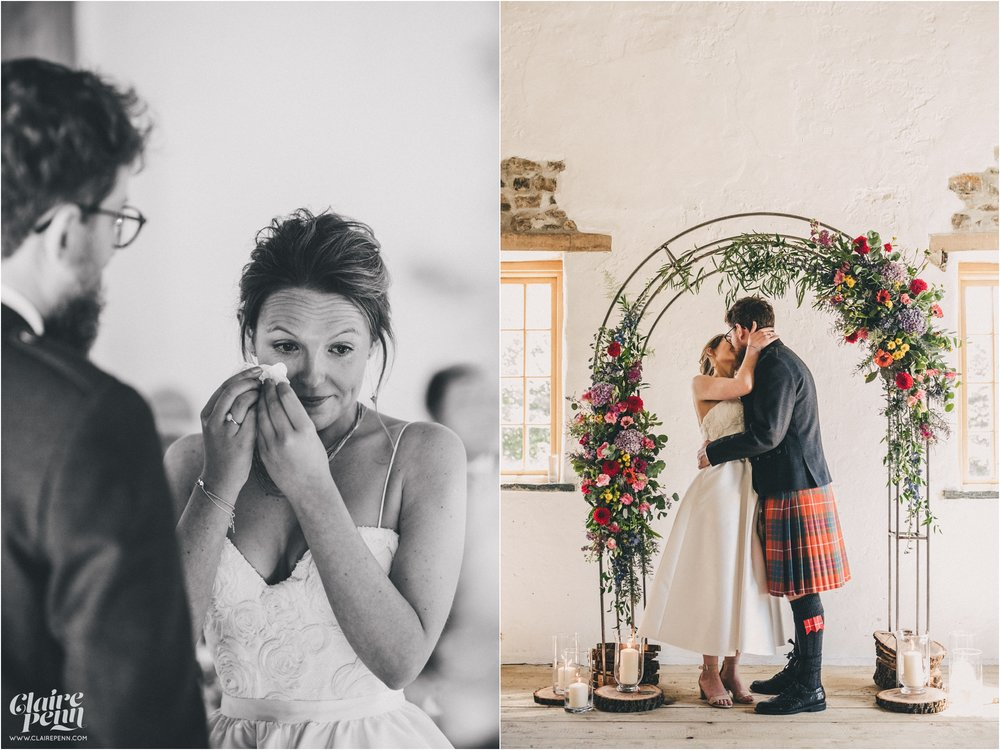 Launcells Barton barn wedding Launceston Bude Cornwall_0030.jpg