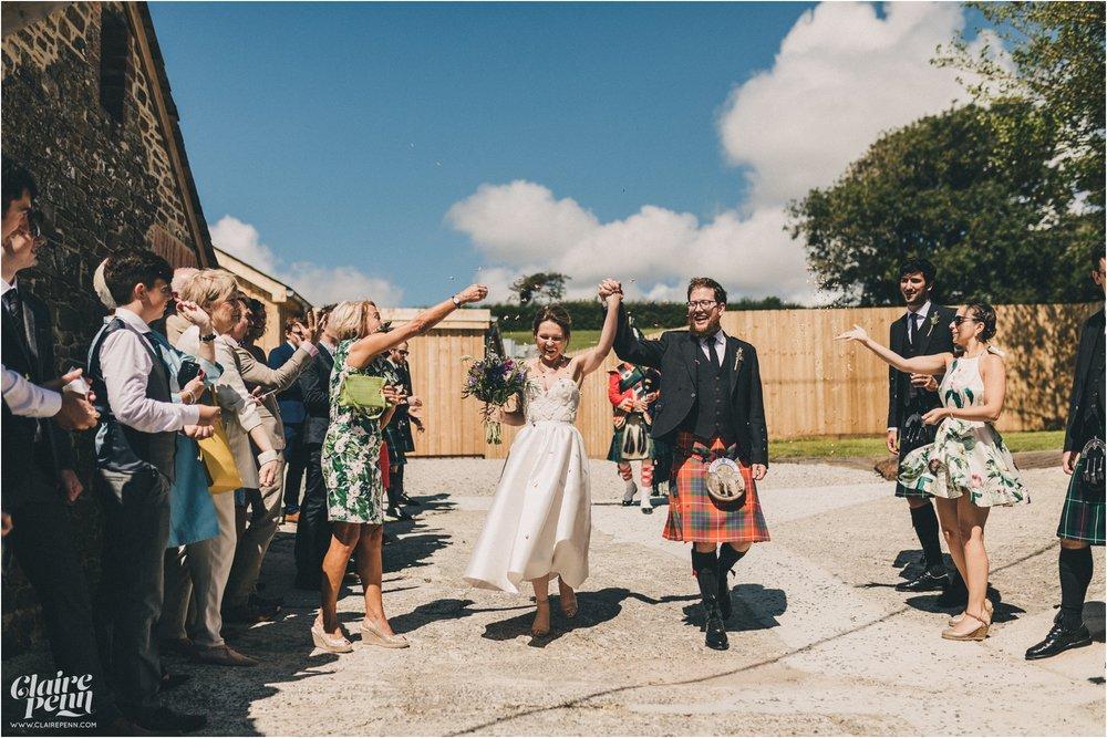 Launcells Barton barn wedding Launceston Bude Cornwall_0032.jpg