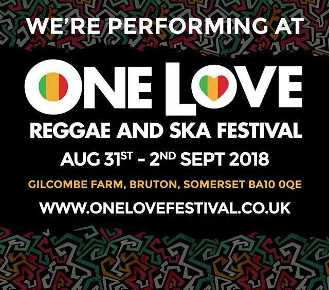 One Love!  The line up is huge. Get your tickets LINK IN BIO!