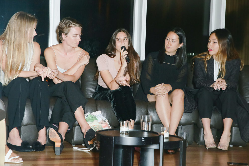 SANDY LIANG + SARAH LAW + KRISSY JONES + CHLOE KERNAGHAN + SANDEEP SALTER + SARAH LAW + KAI AVENT DELON - The Working Woman's Handbook Launch: NYC