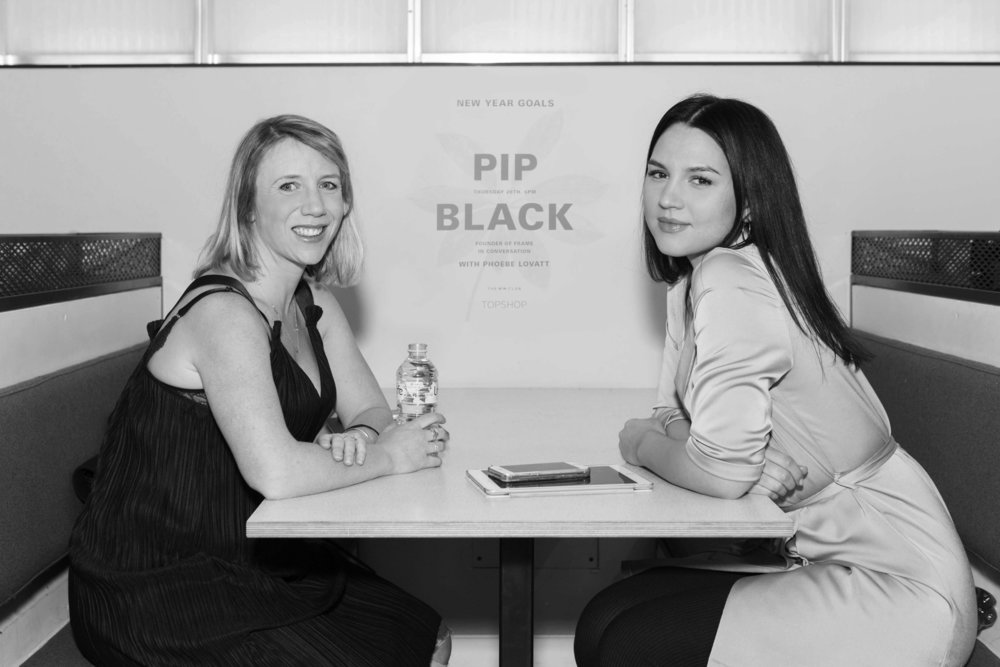 Pip BLack, Co-Founder, Frame - The WW Club @ TOPSHOP