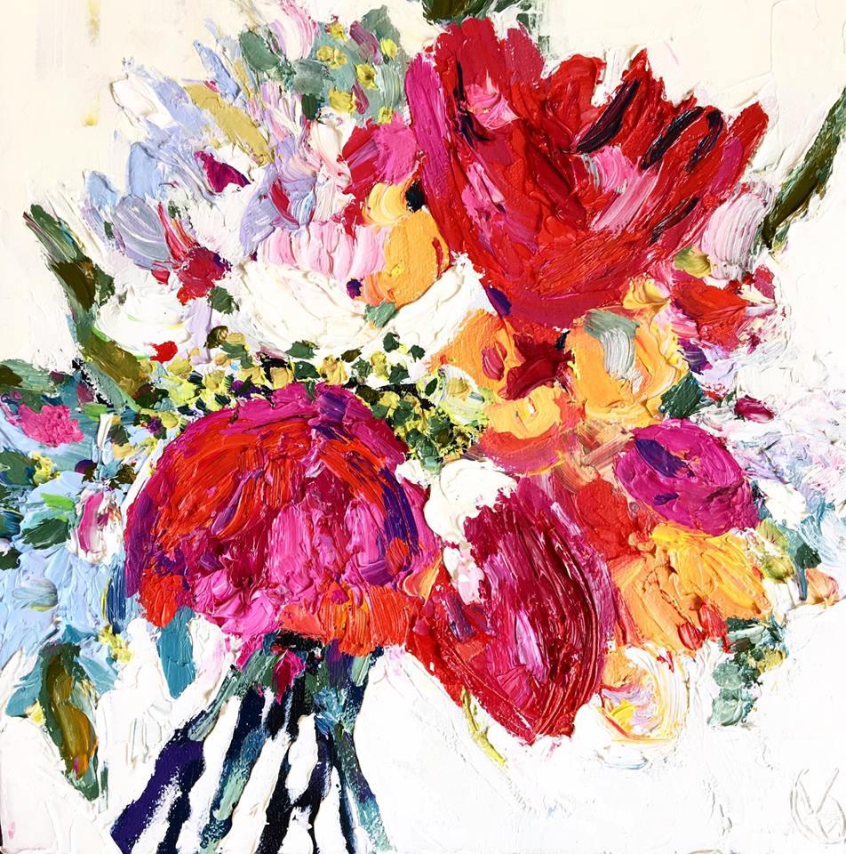 Katie Geis - Peony Bouquet Series