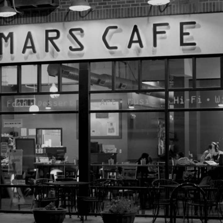 MARS CAFE   Typically a coffee shop, Mars can also be rented out for small get-togethers and parties. – justin@marscafe.net Website Des Moines, IA – Click here for more details.