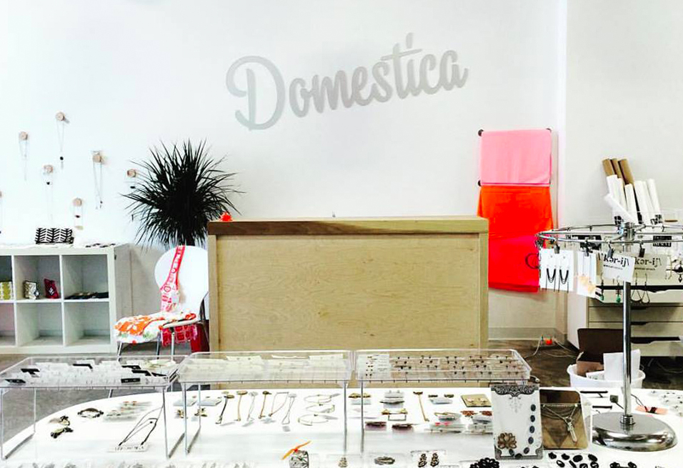 DOMESTICA'S NEW LOCATION ON GRAND