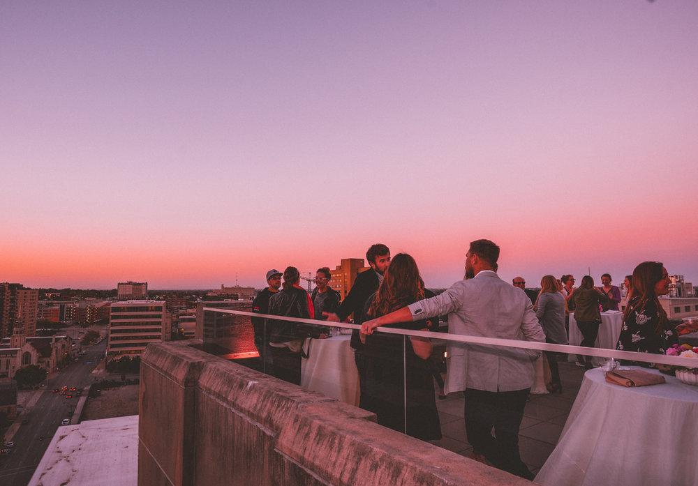 rooftop deck /  photo by alyssa leicht