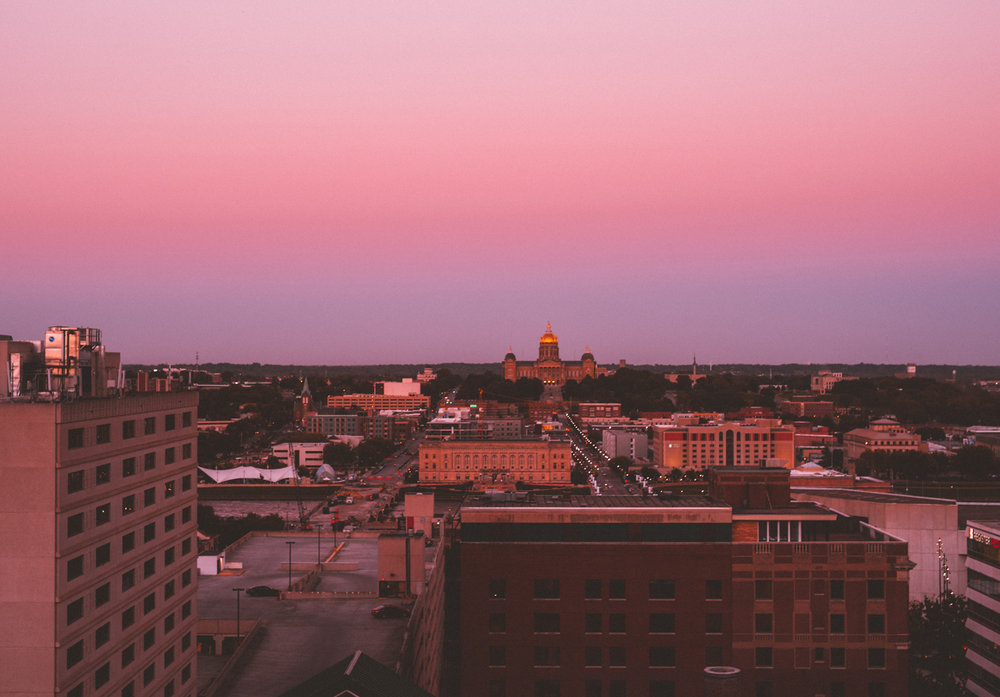 view from the rooftop deck /  photo by alyssa leicht