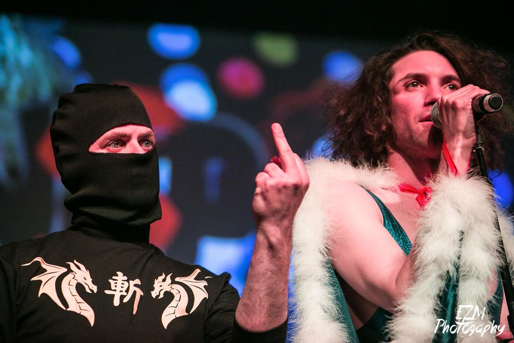Ninja Brian  and  Danny Sexbang  live at Magfest