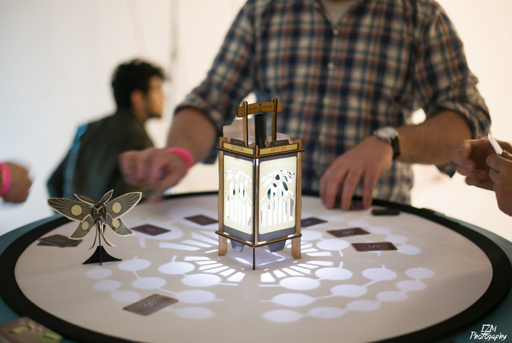The Larklamp Game Lantern at Indiecade East