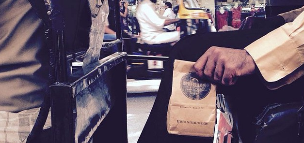 our coffee has touched down in india. photo: colin fernandes