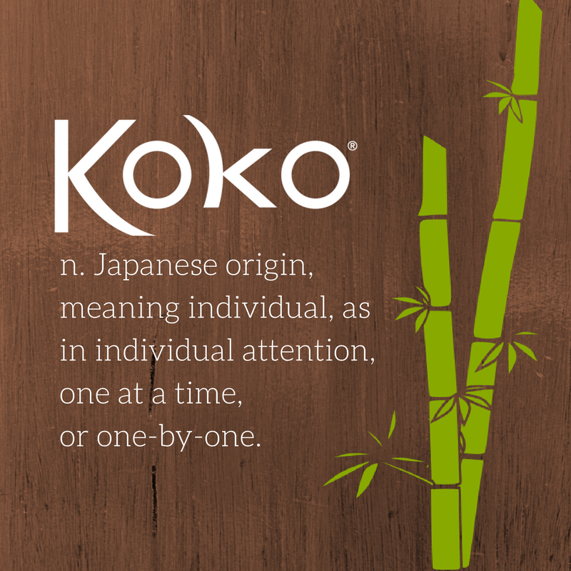 n. Japanese origin, meaning individual, as in individual attention, on at a time, or one-by-one..png
