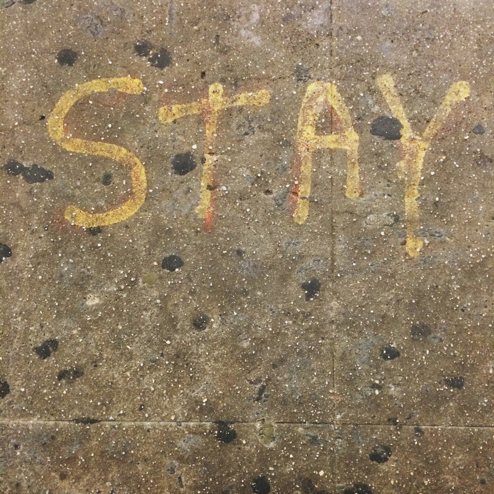 New York, subway floor