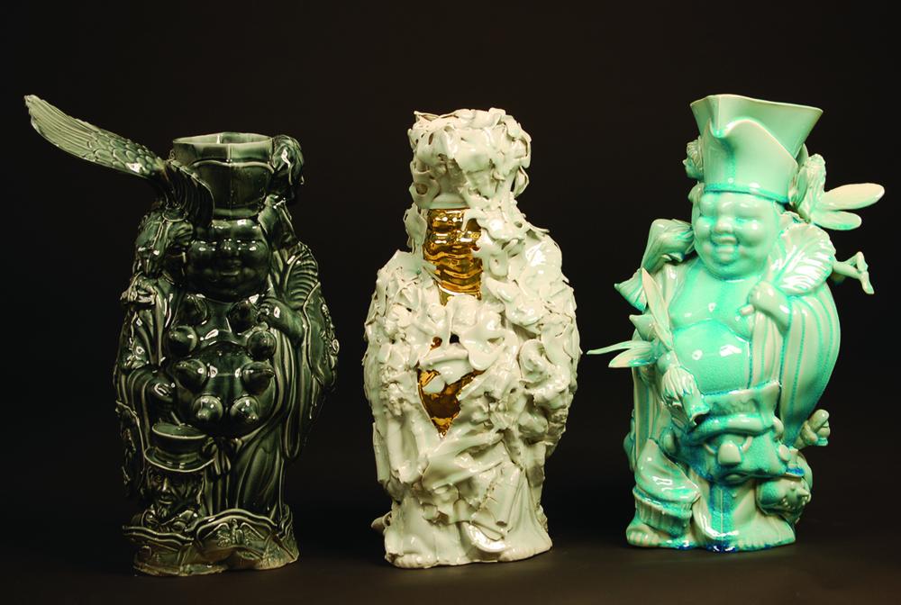 """Three Buddhas"", 2011"