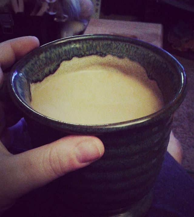2 mornings in a row being wide awake at 2am. Blessed the Java Gods have my back. #mmcoffee #myveinsarejava
