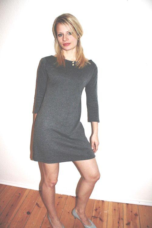 "Sixties Kleid ""ModStyle Dress"" Material: Dicke und dünne Strickstoffe, z.B. Jersey, Wolle, BW Stoffmenge:0.75m - 1m"