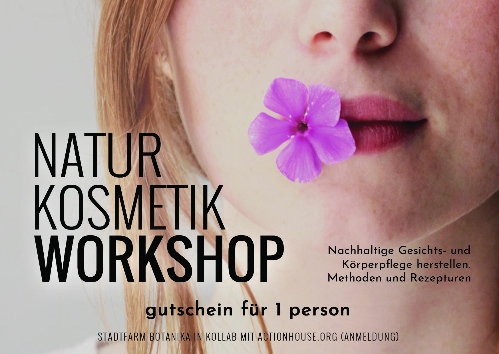 9cf4f20840 GUTSCHEIN Workshop Naturkosmetik — actionhouse