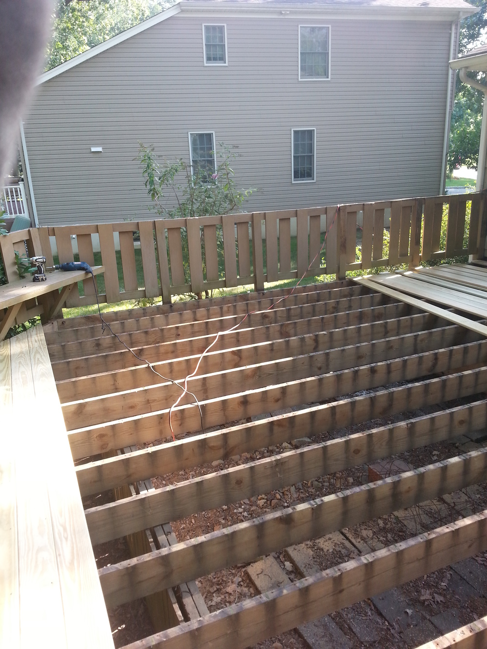 Livingston Deck Resurfacing