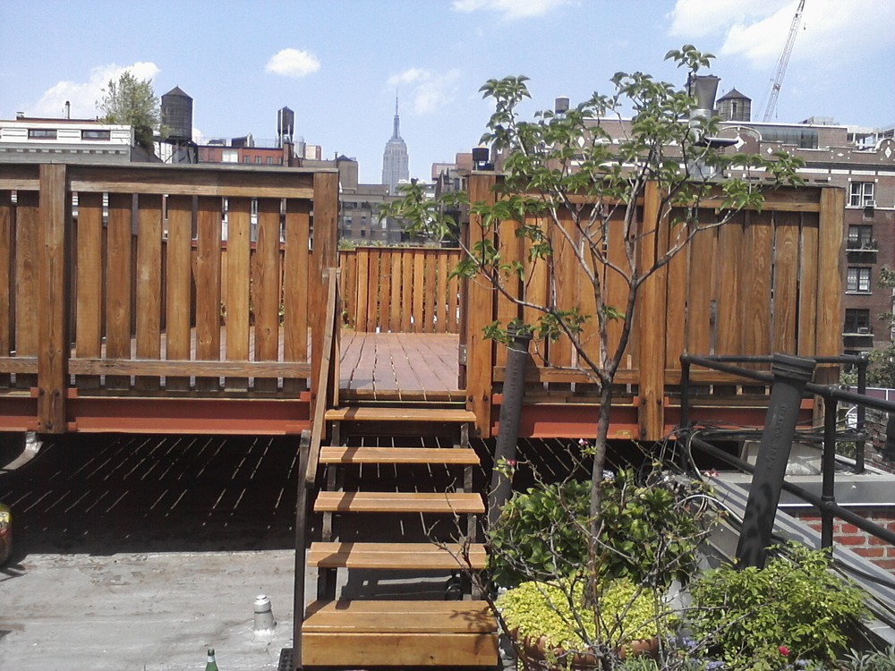NYC Rooftop Deck