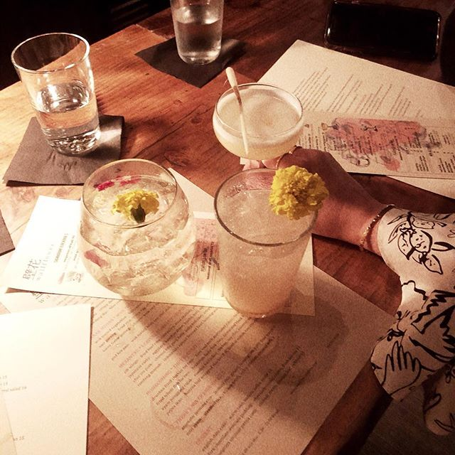 Smoking lemongrass @wallflowervenice