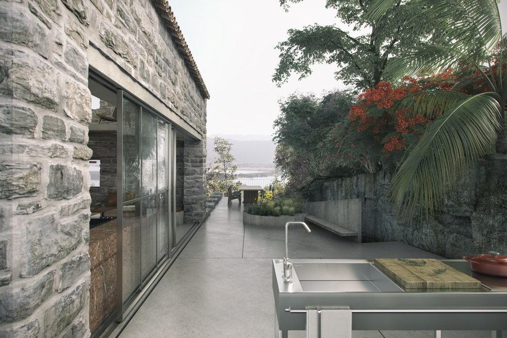 UPHILL - terrace