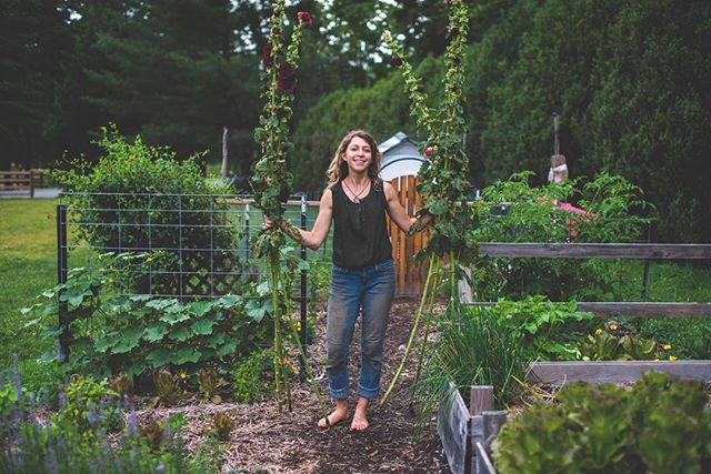 Green thumb goddess in her element. This is just another lovely example of people doing what they love and thriving in this world. #wecanworkitout #greenthumb #gardengoddess #garden #vegetables #wnc #wncphotographer #ncphotographer #naturallight #mcdowellphotographyproject