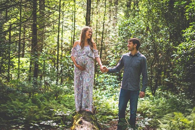 Hey little butter bean in there... you're fixing to get all the love. Also, nice job picking such cool parents. . . . . #maternityshoot #maternityphotography #ncphotographer #wnc #maternity #pisgah #ferns #babyonboard #mcdowellphotographyproject #photooftheday #instaoftheday