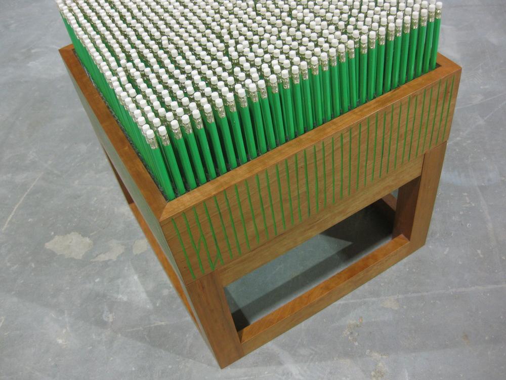 hay field - detail
