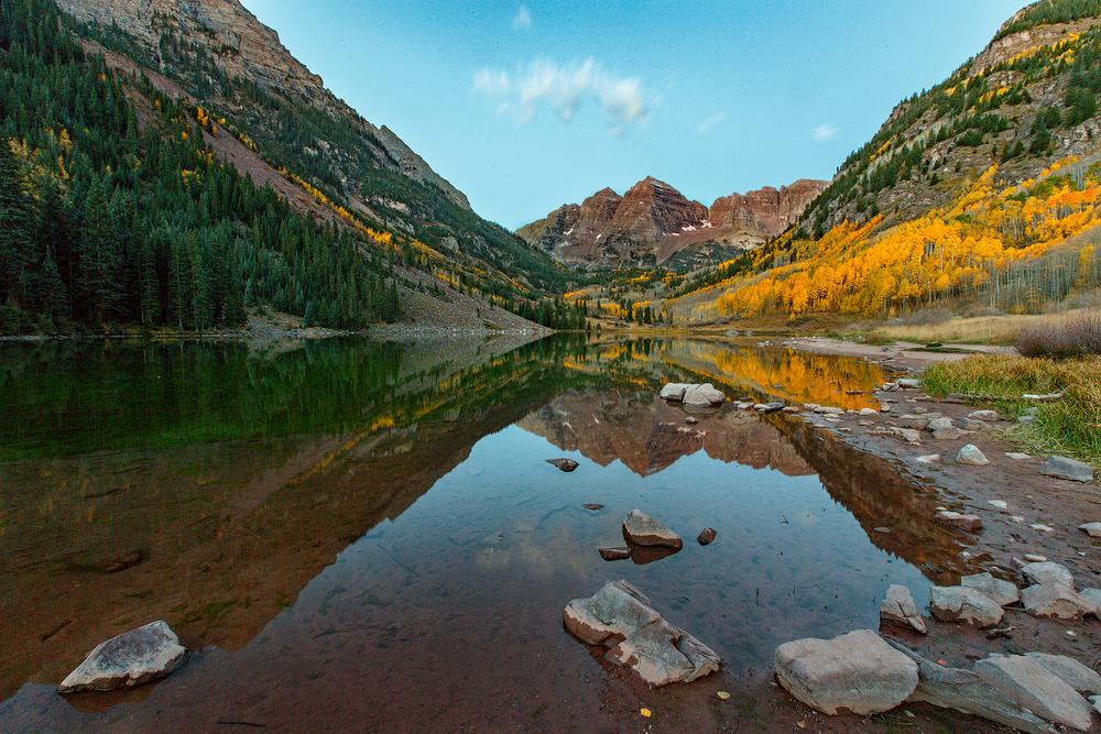 Maroon Bells, Pitkin County, Colorado