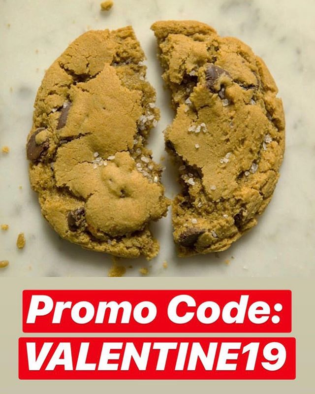 20% off all orders with promo code: VALENTINE19 plus FREE KOOZIE with each purchase! Valid through 2/14/19 ❤️🍪❤️