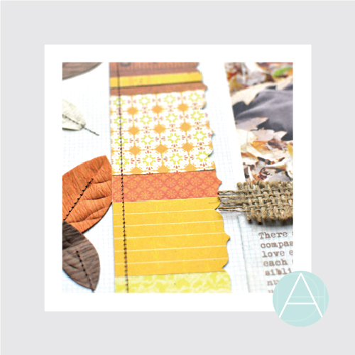 Decorative Borders with Patterned Paper