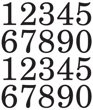 48095 XL Numbers