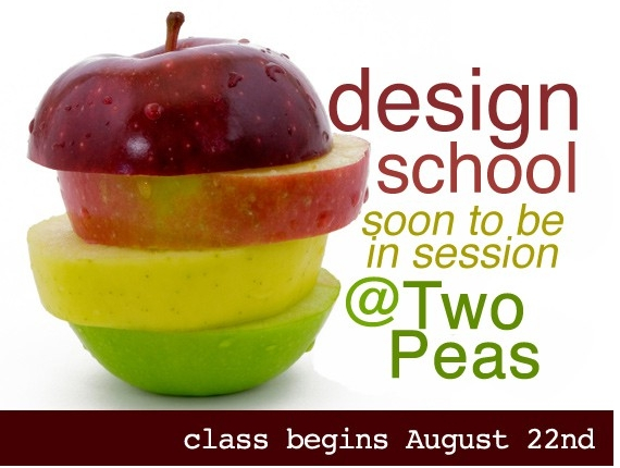 Two Peas :: Design School :: Guest Designer